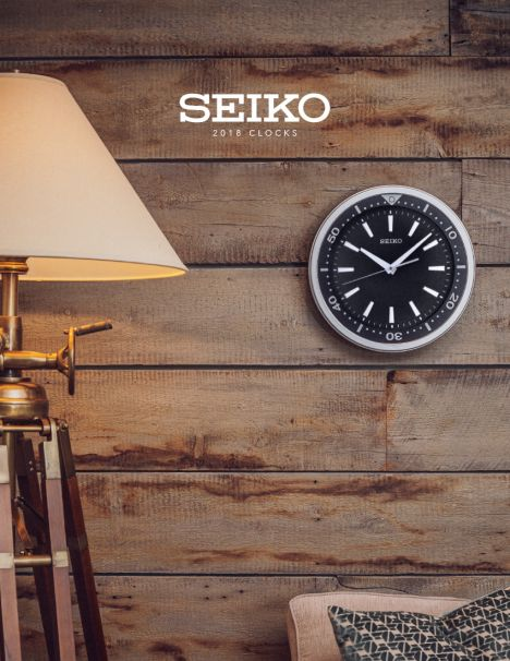 Seiko Clocks 2018