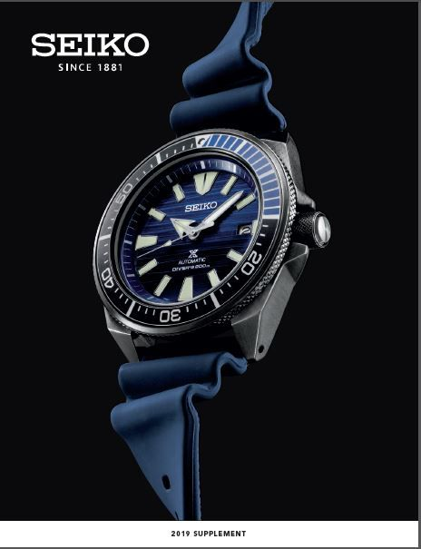 Seiko Full Line Catalog 201